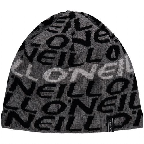 dc867df765a O NEILL MENS BEANIE.NEW BANNER GREY POLAR FLEECE LINED WARM WOOLLY HAT 8W .